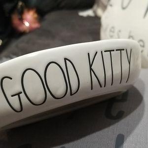 Rae Dunn good kitty bowl